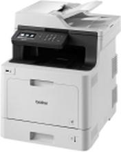 Brother DCP-L8410CDW - Multifunktionsprinter - farve - laser - 215.9 x 355.6 mm (original) - A4/Legal (medie) - op til 31 spm (kopiering) - op til 31