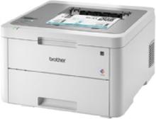 Brother HL-L3210CW - Printer - farve - LED - A4/Legal - 2400 x 600 dpi - op til 18 spm (mono) / op til 18 spm (farve) - kapacitet: 250 ark - USB 2.0,