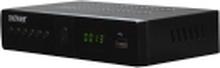 Denver DVBS-205HD, Satellit, Fuld HD, DVB-S2, 4:3,16:9, H.264,MPEG1,MPEG2,MPEG4, Sort