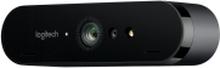 Logitech BRIO STREAM - Live streaming camera - farve - 4096 x 2160 - 1080p, 4K - audio - USB