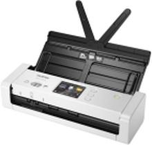 Brother ADS-1700W - Dokumentscanner - Dual CIS - Duplex - A4 - 600 dpi x 600 dpi - op til 25 ppm (mono) / op til 25 ppm (farve) - ADF (20 ark) - op t