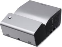 LG MiniBeam PH450UG - DLP-projektor - RGB LED - bærbar - 3D - 450 lumen (hvid) - 1280 x 720 - 16:9 - 720p - ultrakort kast objektiv - WiDi / Miracast