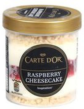 Carte D'Or - Raspberry Cheesecake lody o smaku sernika z sosem ...