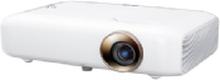 LG MiniBeam PH550G - DLP-projektor - RGB LED - 3D - 550 ANSI lumens (hvid) - 1280 x 720 - 16:9 - 720p - WiDi / Miracast Wi-Fi Display