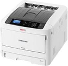 OKI C844dnw - Printer - farve - Duplex - LED - A3 - 1200 x 1200 dpi - op til 36 spm (mono) / op til 36 spm (farve) - kapacitet: 400 ark - USB 2.0, Gi