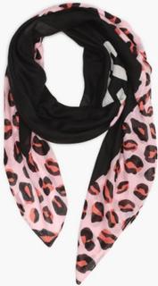 Tommy Hilfiger Tjw Leopard Scarf Halstørklæder & scarves