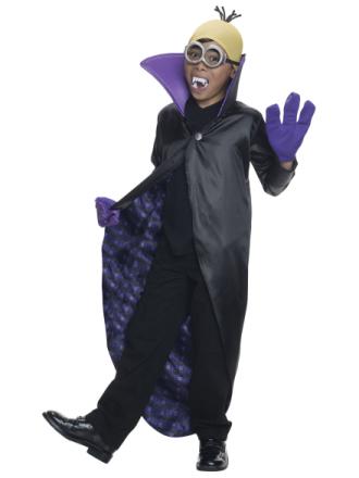 Kostume Minion vampyr til børn - Vegaoo.dk