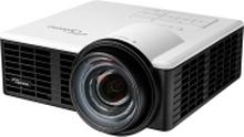 Optoma ML750ST - DLP-projektor - LED - 3D - 800 lumen - WXGA (1280 x 800) - 16:10 - 720p