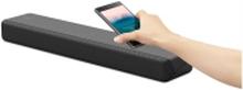 Sony HT-MT300 - Lydbarsystem - til hjemmebiograf - 2.1-kanal - trådløs - Bluetooth, NFC - charcoal black