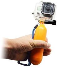Handhållen Flytande Flöte för GoPro - Gul
