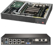 Supermicro SuperServer E300-9D-4CN8TP, Intel® SoC, Intel® Xeon®, D-2123IT, 4GB,8GB,16GB,32GB,64GB,128MB, 512 GB, 2133,2400,2666 Mhz
