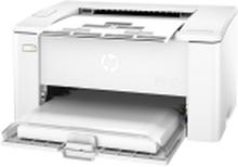 HP LaserJet Pro M102a - Printer - S/H - laser - A4/Legal - 1200 dpi - op til 22 spm - kapacitet: 150 ark - USB 2.0