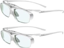 Acer E4w DLP - 3D-brille - aktive lukker - hvid, sølv - for Acer P1255, P1260BTi, P1355W, P1360WBTi, P1560BTi, X1223HP, X1327Wi, X1527i
