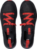 Salomon M's Crossamphibian Sandals black/black/rad