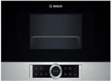 Bosch BEL634GS1, Indbygget, 21 L, 900 W, Touch, Sort, Sølv, Venstre