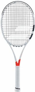 Babolat Pure Strike 100, White/red