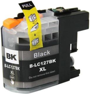 Brother LC 125/127 BK (28 ml) svart kompatibel Blekkpatron