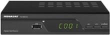 MegaSat HD 5000 DC HD kabelmodtager Front-USB, LAN-kompatibel