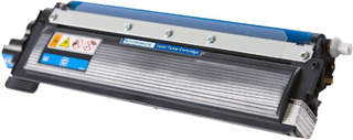 Brother TN210 C Lasertoner, Cyan, kompatibel (1400 sider)