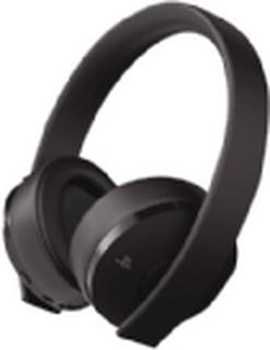 Sony Gold - Headset - fuld størrelse - 2,4 GHz - trådløs - for Sony PlayStation 4, Sony PlayStation 4 Pro, Sony PlayStation 4 Slim