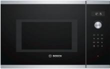 Bosch Serie | 6 BEL554MS0 - Mikrobølgeovn med grill - til indbygning - 25 liter - 900 W - rustfrit stål