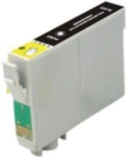 Epson T0711/T0891 BK Sort kompatibel blækpatron (15 ml)