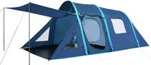 vidaXL Campingtält med uppblåsbara stänger 500x220x180 cm blå