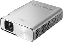 ASUS ZenBeam E1 - DLP-projektor - RGB LED - 150 lumen - WVGA (854 x 480) - 16:9