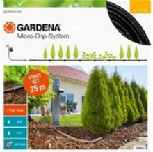 Gardena MICRO-DRIP PLANTERÆKKER 25 M MED VANDINGSCOMPUTER