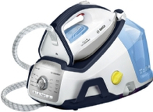 Bosch Serie 8 TDS8060DE, 2400 W, 7,2 bar, 1,8 L, 520 g/min, 120 g/min, Blå, Hvid