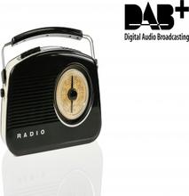Bärbar DAB + Radio FM / AM / DAB / DAB+ AUX Svart
