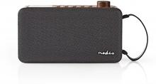 Digital DAB+-radio   12 W   FM   Bluetooth®   Brun/svart