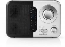 FM-radio | Portabel design | FM | Batteridriven / Strömadapter | Analog | 2.4 W | Svart Vit Skärm | Hörlursuttag | Bärhandtag | Svart / Vit