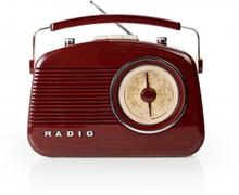 FM-radio   4.5 W   Bärhandtag     Brun