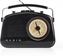 FM-radio   5.4 W   Bluetooth®   Bärhandtag   Svart
