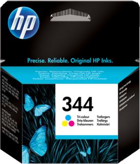 HP 344 CMY (C9363EE) trefärgad, Original, 14ml