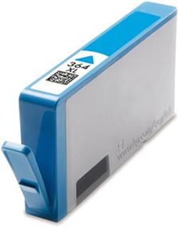 HP 364 XL C (CB323EE) Cyan kompatibel blækpatron med 15 ml