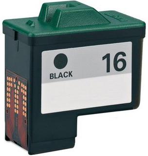 Lexmark 16 (10N0016) sort kompatibel blækpatron (12 ml)