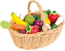 Janod Fruit- & Groente Mand - 24 STUKS