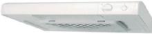 EXHAUSTO Emhætte Soft, standard ESL135 WMR, hvidlakeret med indbygget mekanisk spjæld, forceringsmulighed og potentialfrit relæ.