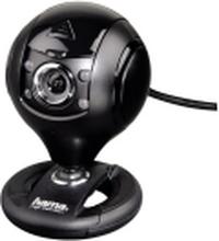 Hama Spy Protect HD Webcam - Webkamera - farve - 1.3 MP - 1280 x 720 - audio - USB 2.0