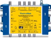 TechniSat TechniSwitch 5/8 K - RF-forstærker / -splitter