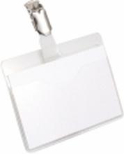 Durable 8106-19, Landskab, PVC, Transparent, 90 mm, 60 mm, 25 stk