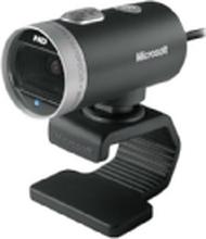 Microsoft LifeCam Cinema for Business - Webkamera - farve - 1280 x 720 - audio - USB 2.0