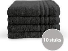Byrklund Handdoek 50x100 cm 500gram Antraciet - 10 stuks