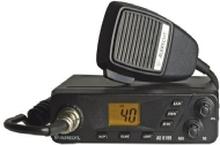 Albrecht AE 6199, Bil, AM,FM, LCD, Sort, 190 mm, 130 mm