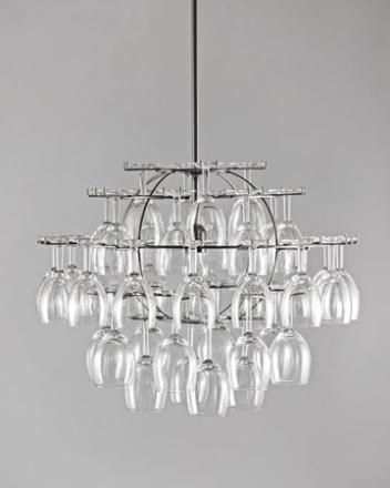 Cedervall shapes Glasklasen 40 glas - Förkromat stål