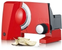 Pålægs-/multimaskine Graef Sliced Kitchen S10003 Rød