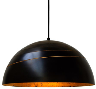 Mullan Lighting Midas designer gold leaf taklampa