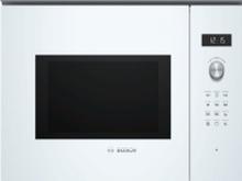 Bosch Serie 6 BEL554MW0, Indbygget, Grill mikroovn, 25 L, 900 W, Dreje, Touch, Hvid
